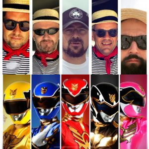 AL·BACARO è...follia Power Rangers contro Venetian Rangers